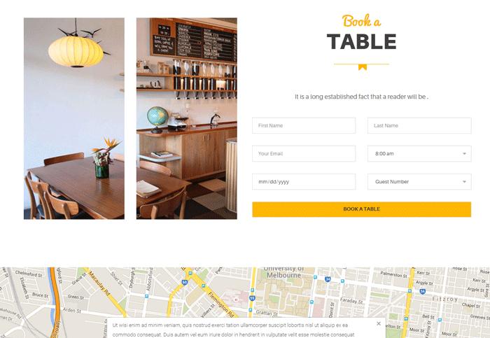 Professional Restaurant Reservation