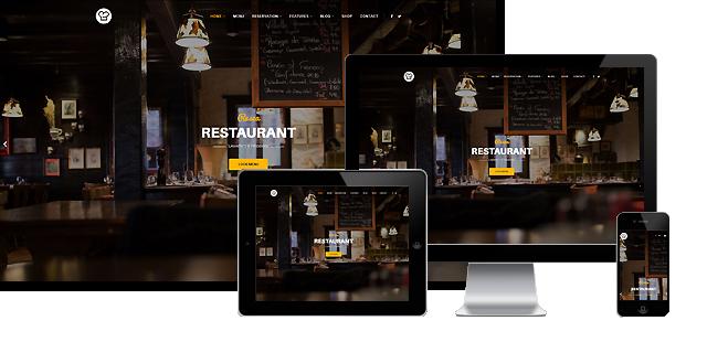 Resca - Joomla Restaurant Template