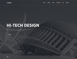 Top Website Template - Asentus