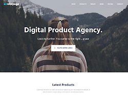 Parallax One Page Bootstrap Theme - AirOnepage