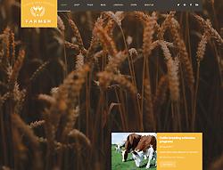 Joomla! Agricultural Template - Farmer PT