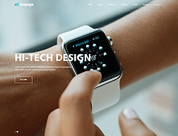Bootstrap HTML Template - AitOnepage