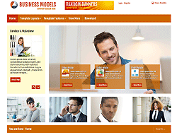 Joomla! Template - AT Businessmodels