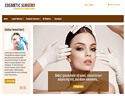 Joomla! Template - PT-Cosmetic