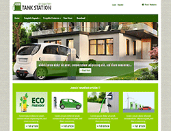 Joomla! Template - AT TankStation