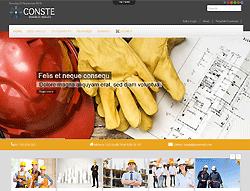Construction Joomla! Template - TD Conste