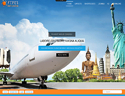 Travel Joomla! Template - Ol Fipes