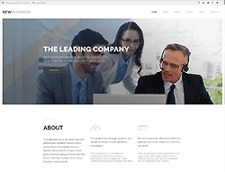 Business Joomla Template - 002102