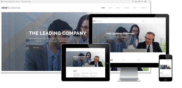 002102 - Business Joomla Template