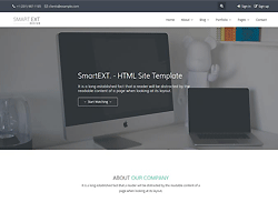 HTML Template - SmartEXT