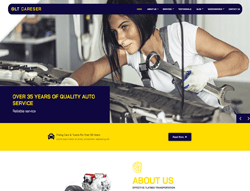 Car Services Joomla! Template - LT Careser