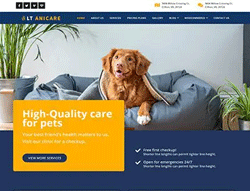 Health Care Joomla! template - LT Anicare