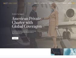 Services Joomla! Template - LT Aircoms