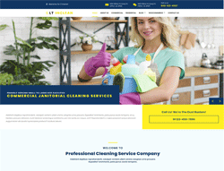 Cleaning Services Joomla Template - LT Inclean