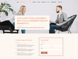 Psychology Joomla template - LT Psychex