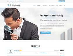 Job Board Joomla template - LT Jobboard