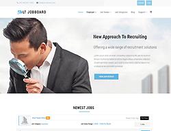 Jobboard Joomla! template - LT Jobboard
