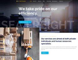 Transportation Joomla template - LT ProTrans