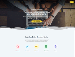 eLearning WordPress theme - LT eLearning