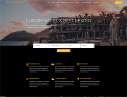 Hotel Booking WordPress theme - LT Hotel Booking
