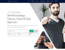 Real Estate WordPress theme - LT Real Estate