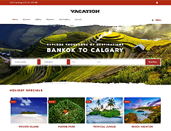 Travel Joomla! Template - PT Vacation