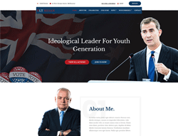 Political Joomla Template - LT Resan
