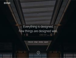 HTML5 Creative Portfolio Template - Exigo