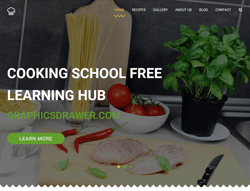 Cooking HTML5 Template - Cooking School