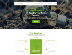Nature Joomla! Template - LT Envico