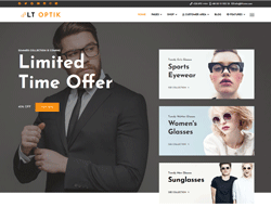 eCommerce Joomla! Template - LT Optik