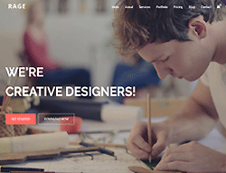 Digital Agency HTML Template - Rage