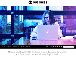 WordPress Template - WP Business