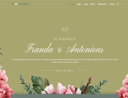 Event Joomla Template - AT Weddy