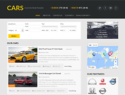 Joomla! Template - Cars