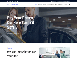eCommerce Joomla! Template - AT Autospik
