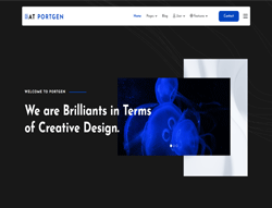 Creative Joomla Template - AT Portgen