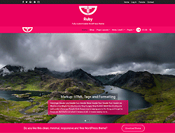WordPress Template - Ruby