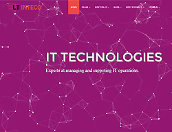 IT Joomla Template - LT Inteco