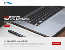 OnePage HTML Template - HR Theme Two