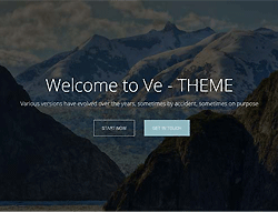 Multipurpose HTML Template - Ve Theme