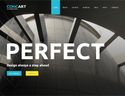 Business Wordpress Theme - MegaWP ConcArt
