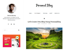 WordPress Theme - Personal Blog