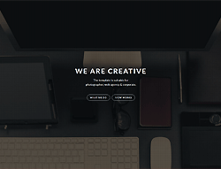 One Page HTML Template - Mikras