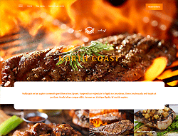 Barbecue Joomla Template - Grill