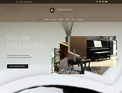 Business Wordpress Theme - MegaWP Perfect Rent