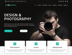 Top WordPress Theme - WS Dirax