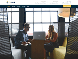 Top WordPress Theme - Fi-Print Lite