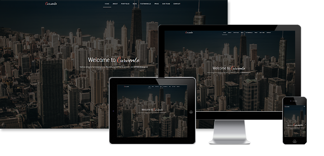 Curvento - Multipurpose HTML Template