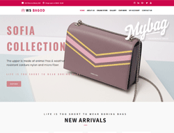 Handbag WooCommerce WordPress theme - WS Bagod